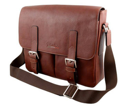 Art. Messenger Bah With Flap Leather