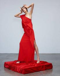 Dress - Art. Avaro Figlio Red