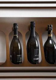 Wine Display - Art. Slot Orizzontale