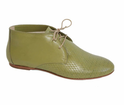 Green Laced Shoes - Art. 2169