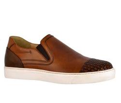 Brown Sneakers Shoes - Art. 28768