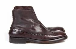 Dark Brown Boots Shoes - Art. 124