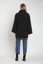 Art. Leatherette Coat