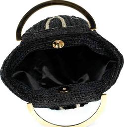 Bag - Art. Yara (Black & Gold)