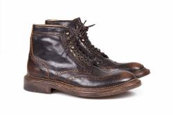 Dark Brown Boots Shoes - Art.105