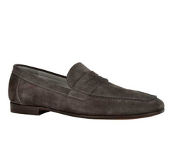 Dark Brown Loafers Shoes - Art. 8746