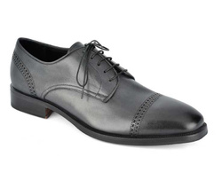 Black Derby Shoes - Art. 8867