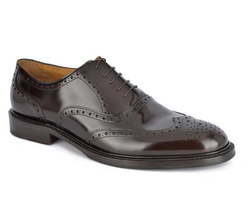 Brown Oxford Shoes - Art. 8872