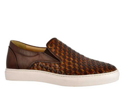 Brown Sneakers Shoes - Art. 8940