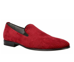 Red Loafers Shoes - Art. 8988