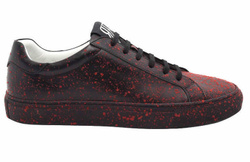 Black/Red Sneakers Shoes - Art. VSPATTER (Women)