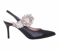 Black Decollete Shoes - Art. 4463