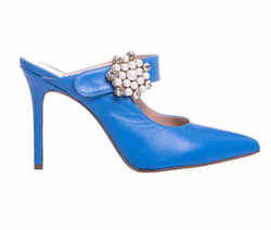 Blue Decollete Shoes - Art. 4469