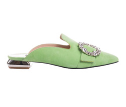 Green Decollete Shoes - Art. 4479