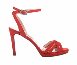 Red Decollette Shoes - Art. 4545