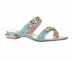 Green Sandal Shoes - Art. 4557