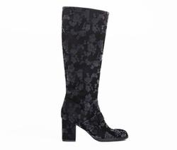 Black Boots Shoes - Art. 4438