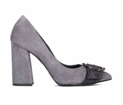 Grey Decollete Shoes - Art. 4447