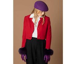 Art. Purple Hat & Gloves