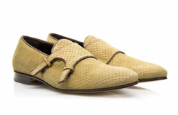 Ochre Monk Stripes Shoes - Art. V311