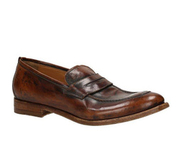 Brown Penny Loafers - Art. J 6414