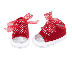 Girl Ceremony Shoes - Art. Ladybug