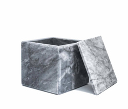 Marbled Box Holder with Lid - Art. MOBJ74