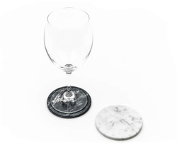Marble Coaster with Cork - Art. MOBJ14