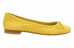 Yellow Ballet Flats Shoes - Art. Ida