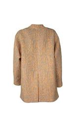 Jaquard maxi coat - Art. JA-010