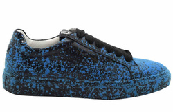 Black/Blue Sneakers Shoes - Art. VSPATTER (Women)