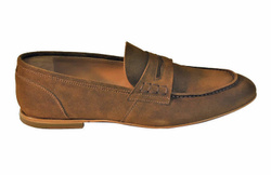 Brown Loafers Shoes - Art. 90001B
