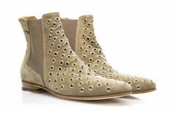 Light Brown Boots Shoes - Art. V318