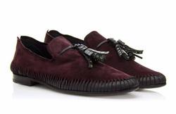 Dark Brown Loafers Shoes - Art. V363