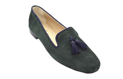 Green Loafers Shoes - Art. Mega