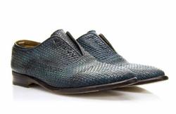 Dark Blue Oxford Shoes - Art. V350