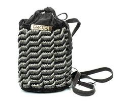 Shoulder Bag - Art. Wendy (Black & Grey)