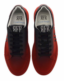 Black/Red Sneakers Shoes - Art. VFADEL (Women)