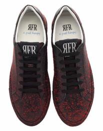 Black/Red Sneakers Shoes - Art. VSPATTER (Women)