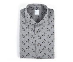 Shirt - Art. Grey micro-fantasy shirt