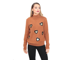 Art. Peluche Shirt with Hearts