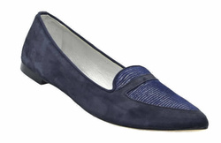 Blue Loafers Shoes - Art. Gina