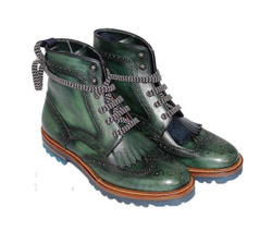 Ankle Boots - Art. 906-127 (Green)