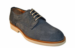 Suede Derby Shoes- Art. 432010B