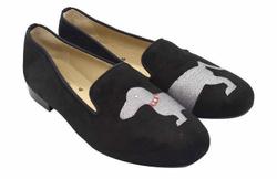 Black Loafers Shoes - Art. Dog