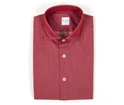 Shirt - Art. Red Twill Shirt