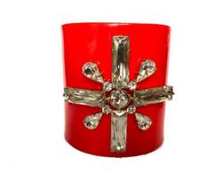 Bracelet - Art. Red Resin