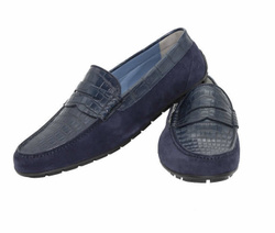 Navy Loafers - Art. G7