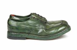 Green Derby Shoes - Art. 118