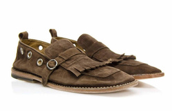 Brown Loafers Shoes - Art. V391